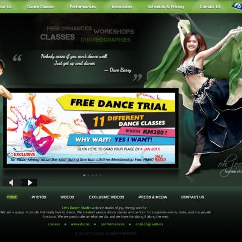 Let's Dance Studio, Penang