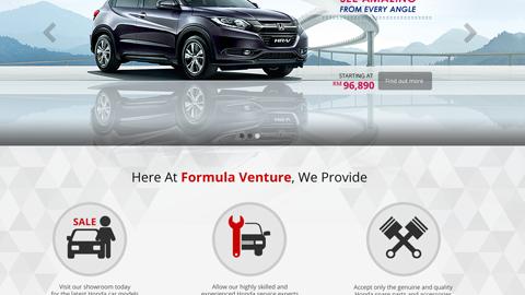 Formula Venture - Honda Butterworth, Penang, Malaysia